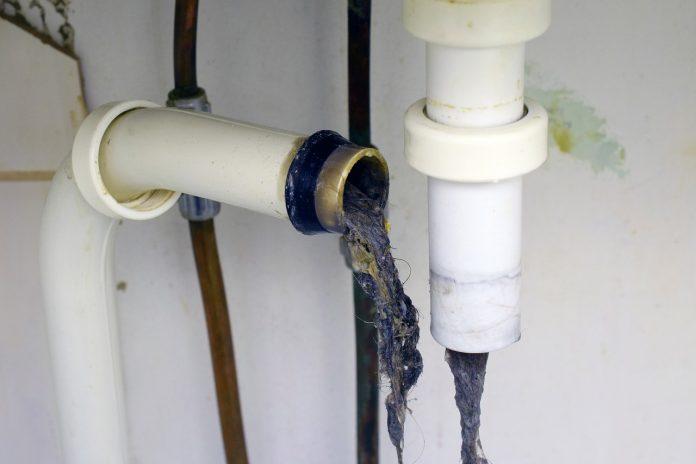 détecter un bouchon dans une canalisation