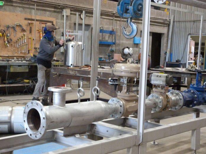 entreprise de tuyauterie industrielle